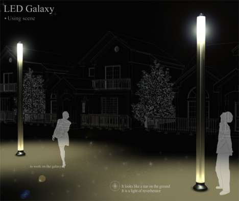 LED Galaxy Street Light