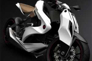 The Izh-1 Motorcycle from Igor Chak Features Airbags & iPod Compatibility