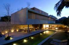Stilted Modern Homesteads - The House 6 by Marcio Kogan Hangs High in the World of Architecture