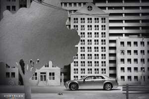 Pawel Nolbert & Lukasz Murgrabia's 'Chrysler-Paper City' Shows the 300's Edge