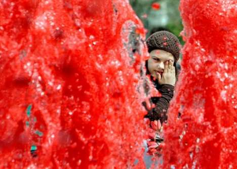 Bucharest blood fountains