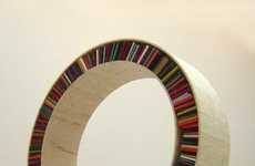 Circular Seating Bookcases