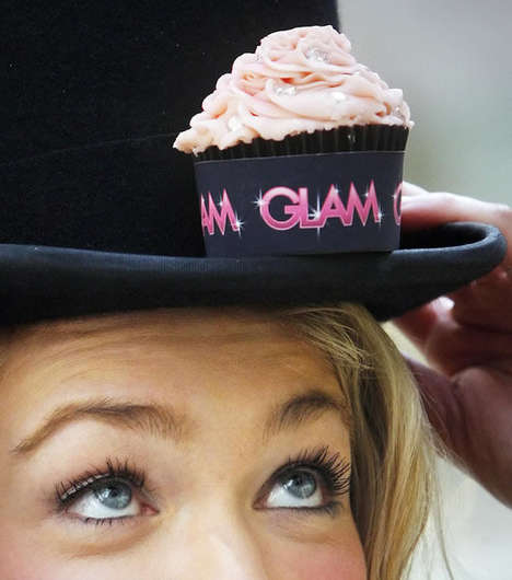 Diamond-Studded Cupcakes - ROX and Cupcake Glasgow Team Up for a £100,000 Sweet Treat