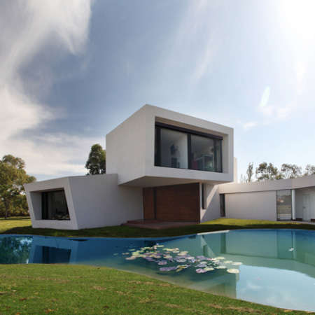 Stacked Cube Dwellings - Andres Remy Architects' Casa Orquidea is a Modern Marvel