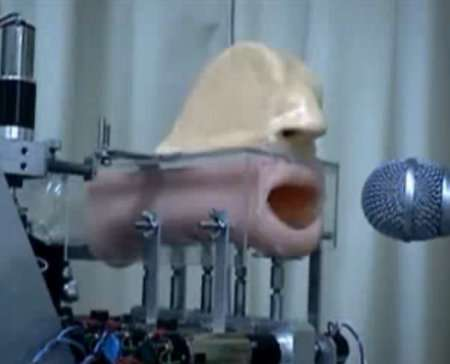 robotic mechanical mouth