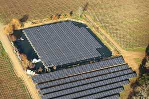 Solar-Powered Winery Uses Floating Power Panels (UPDATE)