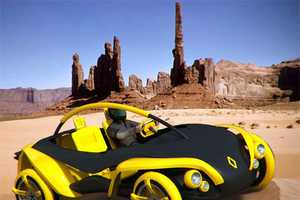 The Renault 2010 Sand Jumper Generates Energy for Itself