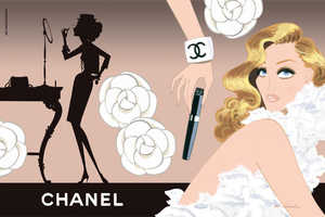 Fashion Illustrators Try Their Hand at Remaking Ad Campaigns