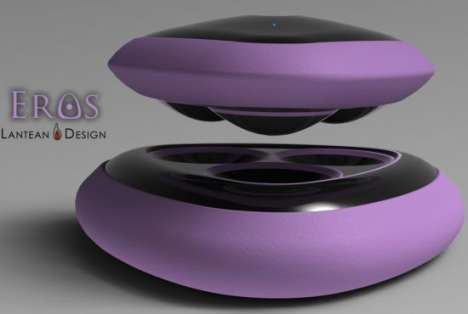 Intimacy-Inducing Massagers - The Eros Electric Massager by Argentine Lantean Design