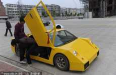 Chen Jinmiao's Lamborghini is a Luxurious Feat