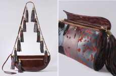 Ghoulishly Tasseled Bags