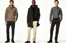 Mega Minimalist Menswear - The GAP 2010 Fall Collection Keeps it Basic for the Chilly Season