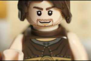 The Prince Of Persia Trailer LEGO Reenactment