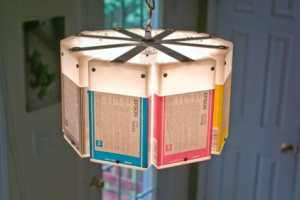 The Upcycled Lowell and Louise Ink Cartridge Lamps