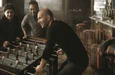 Star-Studded Foosball Ads