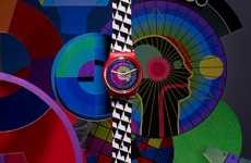Swatch by Gary Card is a Collection of Artistic Timepieces