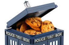 Time Machine Cookie Jars