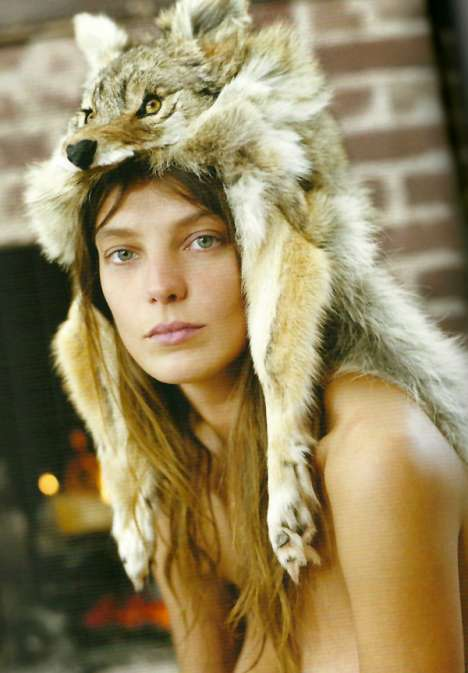 Hot Tomboys - Daria Werbowy is Both Casual and Coquettish in the Dossier Spring 2010 Issue