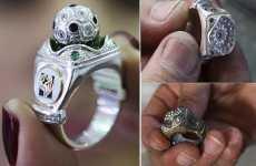 Bejeweled Soccer Bling