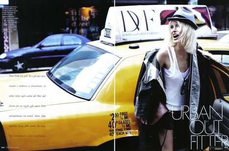Urban Fashion, Caroline Winberg, David Burton, Elle Italia