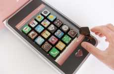 Luxury Tech Confections - The iPhone App Chocolates are for Dessert-Loving Apple Fans