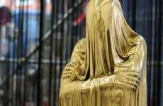 Veiled Metallic Sculptures - Kevin Francis Gray has a Case of the Bronze Midas Touch
