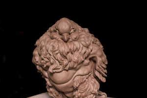 David Constantino Salazar Beefs Up his Pigeon Sculptures