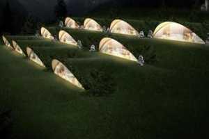 Matteo Thun Designs Eco-Friendly Underground Hotel