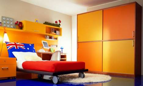 Colorful Kiddie Havens - The Dearkids 2010 Collection Offers Creative Comfort for Children