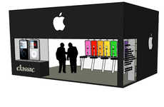 Pop-Up Mac Stores - The Apple iPod Concept Shop Reimagines the Company's Retail Outlet