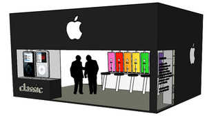 The Apple iPod Concept Shop Reimagines the Company's Retail Outlet