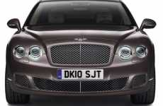 Market-Specific Luxury Coupes - Bentley Design Series China Models Tailored to China's Landscape