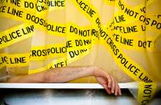 Crime Scene Shower Curtains