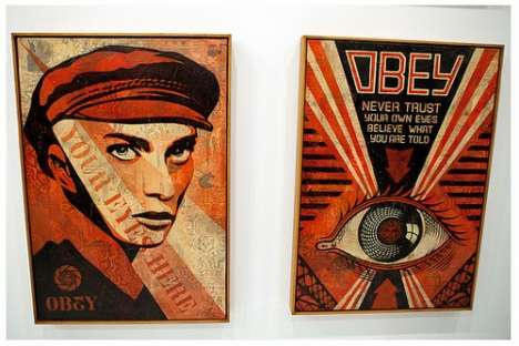 Shepard Fairey May Day Exhibition