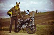 'Sucio Perro' by Natalia Hoyos Features a Biker Big Bad Wolf