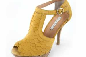 Lovely People Summer 2010 Collection Gets Fishy With the 'Cash Yellow' Shoe