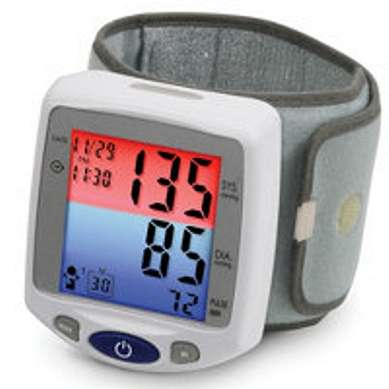 Wristband Blood Pressure Monitor