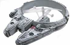 Remote-Controlled Space Cruisers - The RC Millennium Falcon from Hasbro is the Best Toy Ever Created