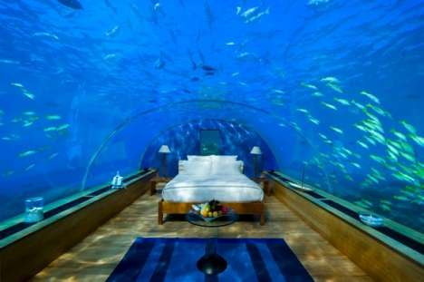 Underwater Hotel Room