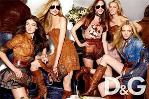 D&G Spring/Summer Ad Campaign is All About House Party Fun