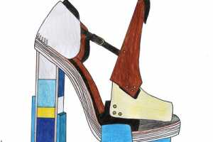 The Janelle Burger Drawings of Coveted High Fashion Items