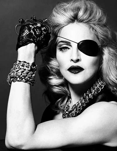 Madonna in the may 2010 issue of interview mag