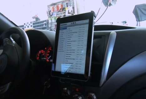 iPad Car Kits - The Scosche Industries iKit Lets You Touch Your Tablet Without Causing a Crash