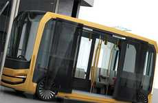 Air-Purifying Buses - The Eolo Bus Can Remove Toxins Released by Cars