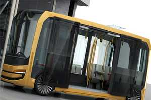 The Eolo Bus Can Remove Toxins Released by Cars