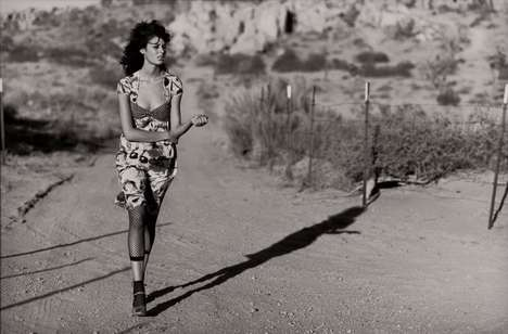 Nicole Trunfio, Peter Lindbergh, Desert Shoot