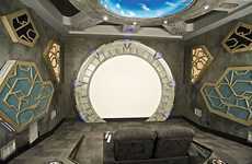 Stargate-Themed Movie Rooms Will Amp Up Your Movie Experience