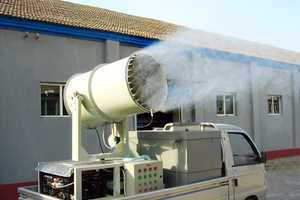 Giant Deodorizing Guns are Beijing's Solution to Landfill Odors