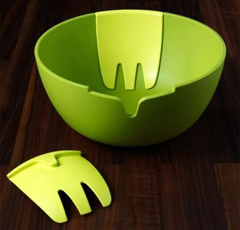 Hands on Salad Bowl
