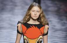 'Bambi' Print Couture